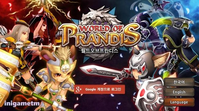 World of Prandis - tựa game MMORPG mobile phong cách anime siêu dễ thương