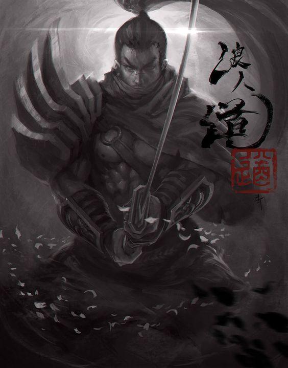 """""""Trụy tim"""" với các tác phẩm fan art Yasuo cực xuất thần"""