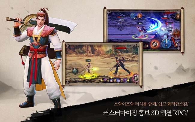 Trải nghiệm Yulgang M – Hiệp Khách Giang Hồ mobile chính chủ từ Hàn Quốc