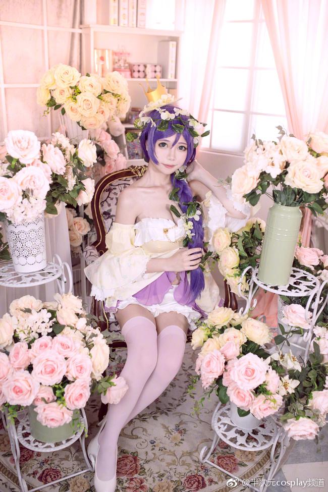 Khởi động đầu tuần với cosplay Nozumi Toujou đầy ngọt ngào quyến rũ
