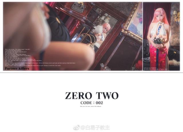 Xịt máu mũi với nữ thần Zero Two ngực khủng cực nóng bỏng
