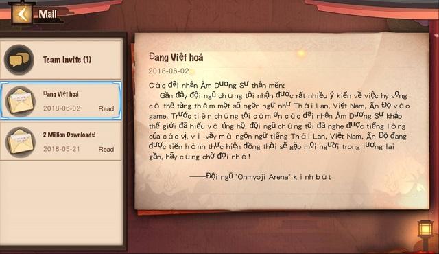 Chiều lòng game thủ, Âm Dương Sư MOBA sắp update tiếng Việt