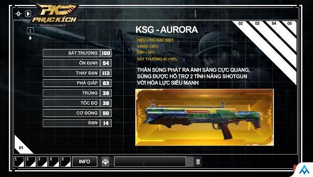 Phục Kích sắp có Shotgun VIP đầu tiên?
