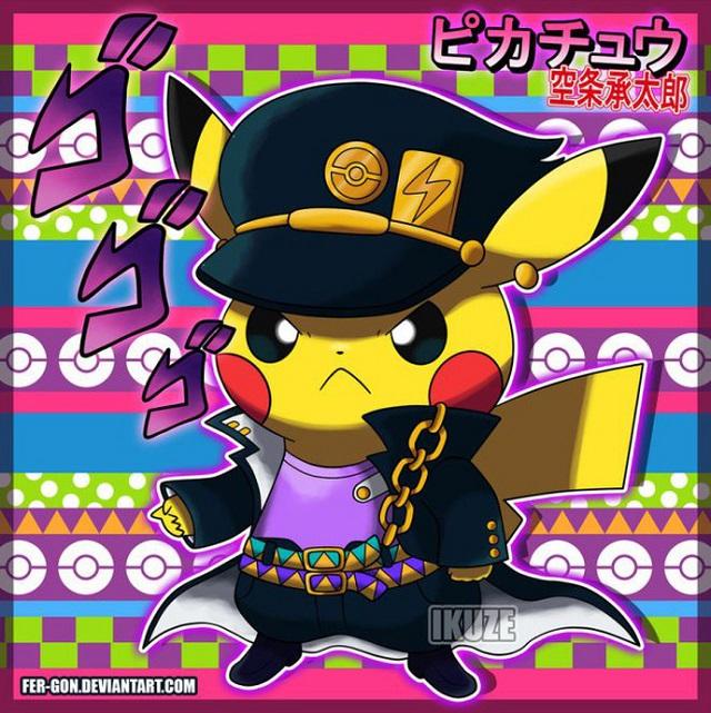 """Khi Pikachu """"cosplay"""" nhân vật anime cực đáng yêu"""
