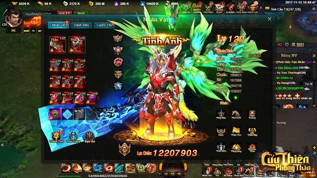 Cửu Thiên Phong Thần - Webgame Phong Thần sẽ ra mắt tại Việt Nam trong tháng 11