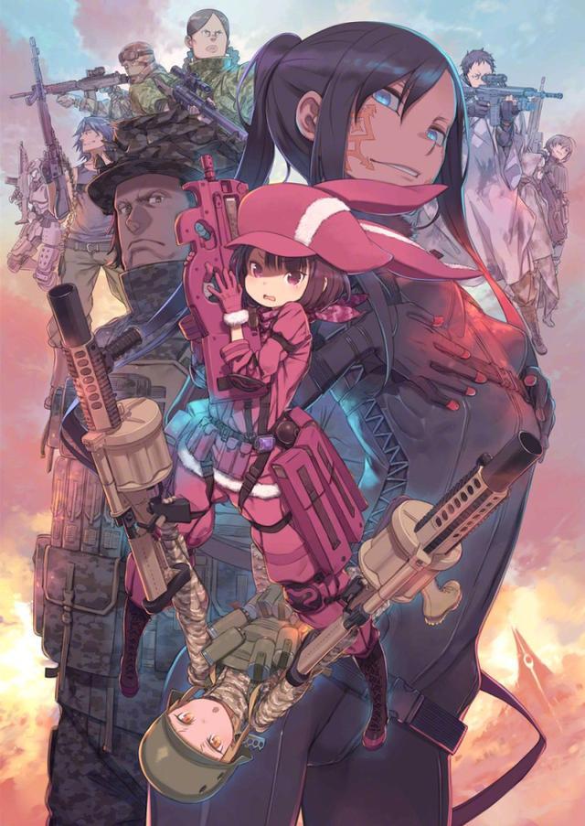 Sword Art Online Alternative: Gun Gale Online ấn định khởi chiếu vào tháng 4