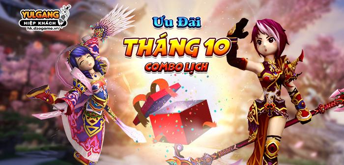 [Qua tang] Combo Lich Thang 10, 11, 12