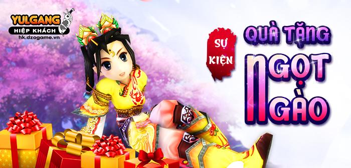 Yulgang Hiệp Khách Dzogame VN [Su Kien] Qua Tang Ngot Ngao (10.2021)