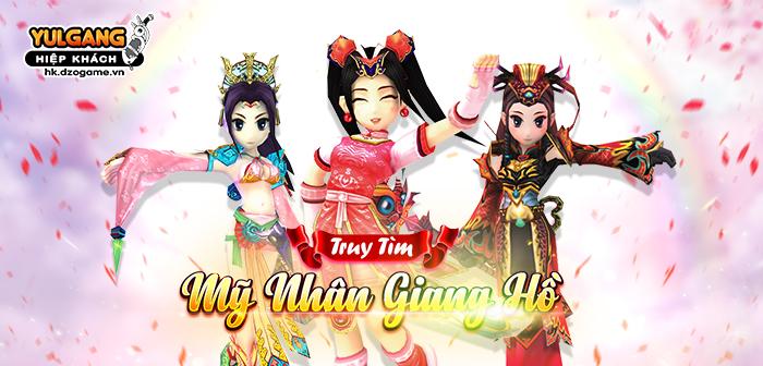 Yulgang Hiệp Khách Dzogame VN [Truy tim My nhan] Hiep Khach Giang Ho (2021)