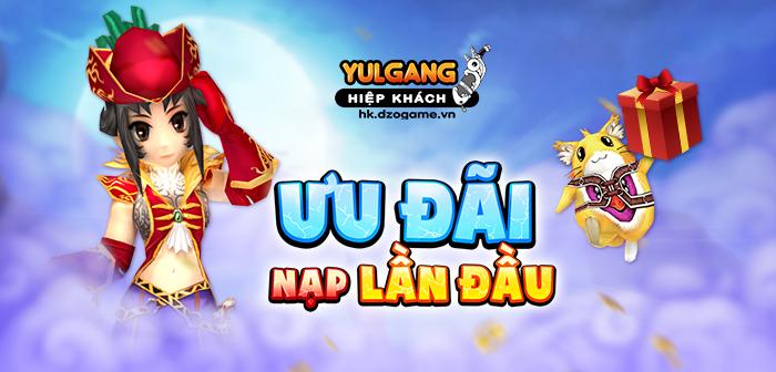 Yulgang Hiệp Khách Dzogame VN [Uu Dai] Nap Lan Dau (2) (06.2021)
