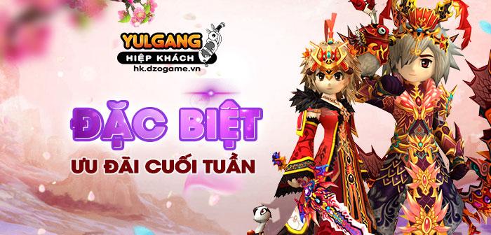 Yulgang Hiệp Khách Dzogame VN Uu Dai Cuoi Tuan (Dac Biet) (3) (07.2021)