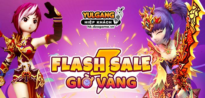 Yulgang Hiệp Khách Dzogame VN [Flash Sale] Qua Tang Gio Vang (2) (06.2021)