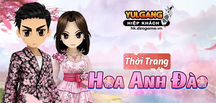 Yulgang Hiệp Khách Dzogame VN [Trang Phuc Hieu Ung] Thoi Trang Hoa Anh Dao (06.2021)