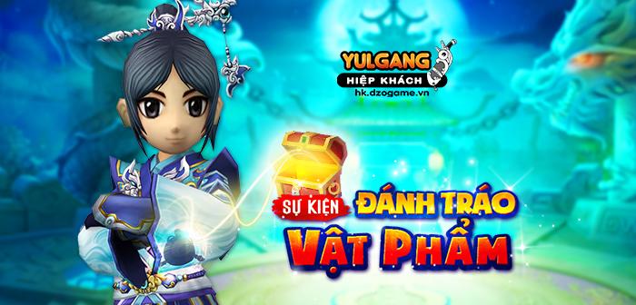 Yulgang Hiệp Khách Dzogame VN [Su kien] Danh Trao Vat Pham (09.2021)