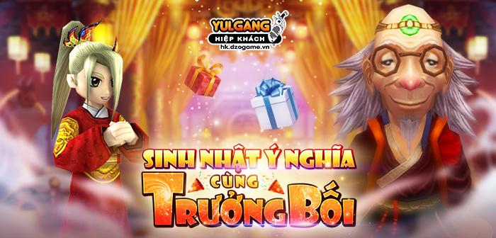 Yulgang Hiệp Khách Dzogame VN [Chuoi Su Kien] Sinh Nhat Y Nghia Cung Truong Boi [10.2021]