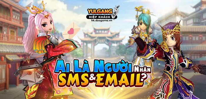 Yulgang Hiệp Khách Dzogame VN Ai La Nguoi Nhan SMS & Email (07.2021)