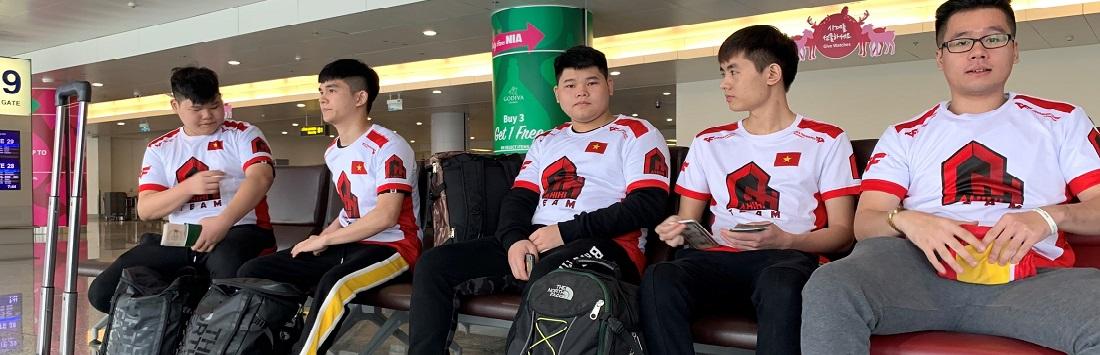 CrossFire Legends: Tuyển Việt Nam chính thức lên đường tham dự chung kết thế giới CFS 2018 tại Trung Quốc