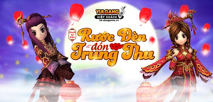 Yulgang Hiệp Khách Dzogame VN [Chuoi Su Kien] Ruoc Den Don Trung Thu (09.2021)