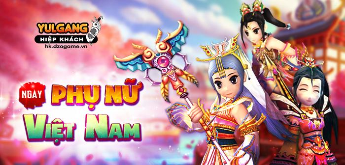 [Thông tin] [Chuỗi Sự Kiện] Mừng Ngày Phụ Nữ Việt Nam (10.2021)