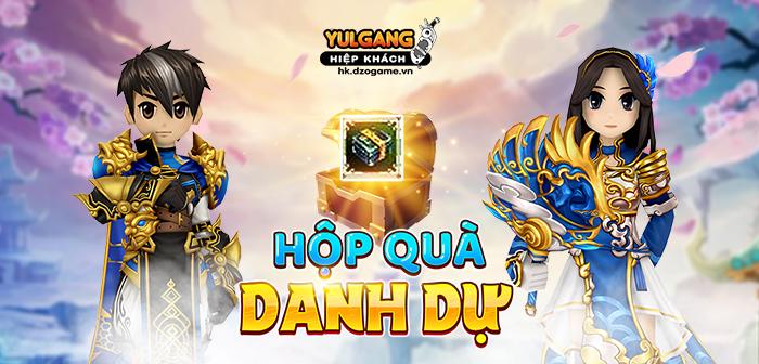 Yulgang Hiệp Khách Dzogame VN [Cap Nhat] Hop Qua Danh Du - 24/06/2021