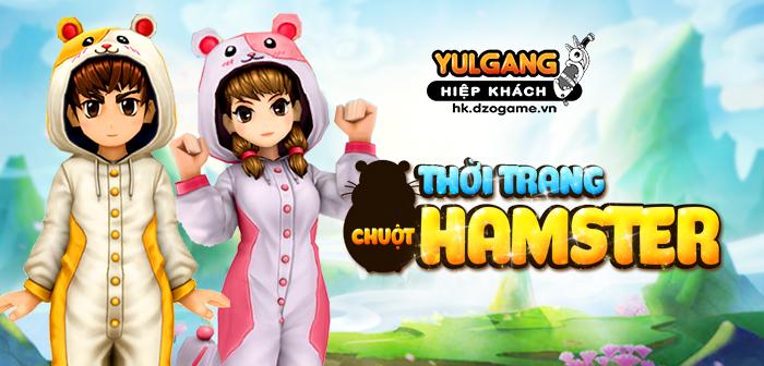 [Thời Trang Tháng 2] Chuột Hamster 13/02/2020