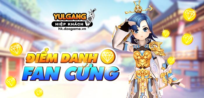 Yulgang Hiệp Khách Dzogame VN Diem Danh Fan Cung (10/09/2021)