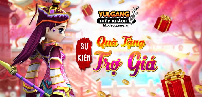 Yulgang Hiệp Khách Dzogame VN Qua Tang Tro Gia (Dac Biet) (06.2021)