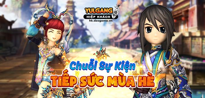 Yulgang Hiệp Khách Dzogame VN Chuoi Su Kien Tiep Suc Mua He (05.2021)
