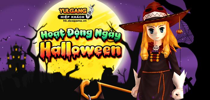 Yulgang Hiệp Khách Dzogame VN Chuoi Hoat Dong Ngay Halloween (10.2021)