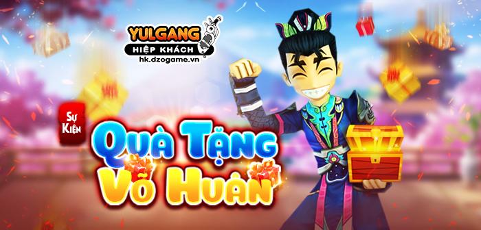 Yulgang Hiệp Khách Dzogame VN [Dong Lanh Dien] Qua Tang Vo Huan (10/2021)