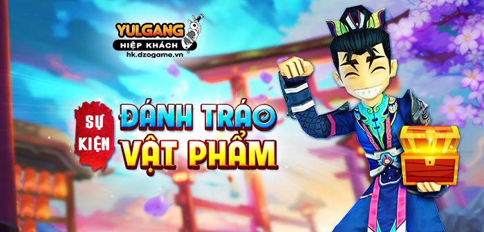 Yulgang Hiệp Khách Dzogame VN [Su kien] Dánh Tráo Vat Pham Dac Biet (05.2021)
