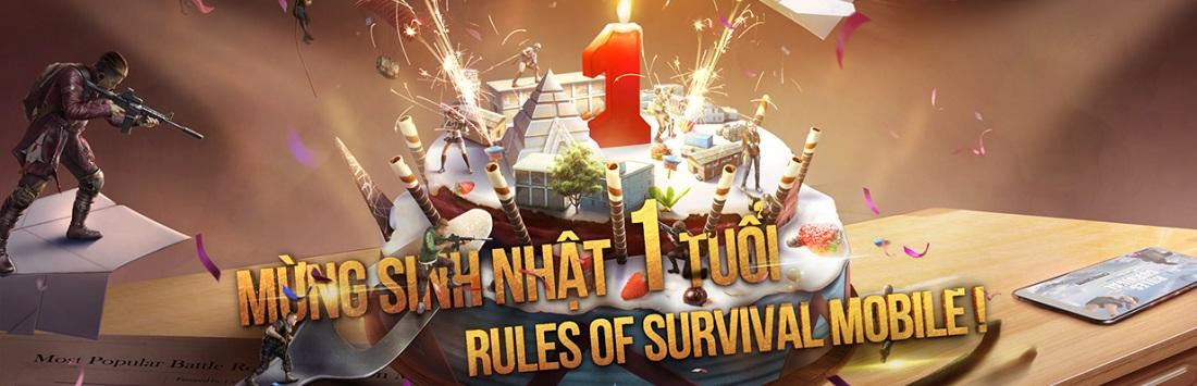 Cộng đồng Rules of Survival Mobile TP.HCM háo hức tham dự big offline nhân dịp Sinh Nhật ROS 1 tuổi vào cuối tuần này 18/11