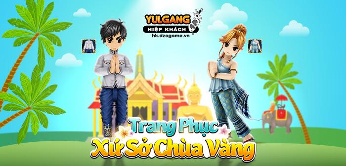 Yulgang Hiệp Khách Dzogame VN [Thoi Trang Hieu Ung] Trang phuc Xu So Chua Vang (05.2021)
