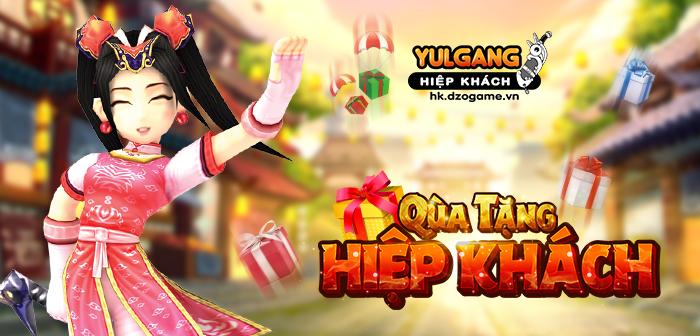Yulgang Hiệp Khách Dzogame VN Qua Tang Hiep Khach mung Sap nhap (07.2021)