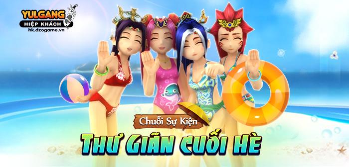 [Chuoi Su Kien] Thu Gian Cuoi He (09.2020)