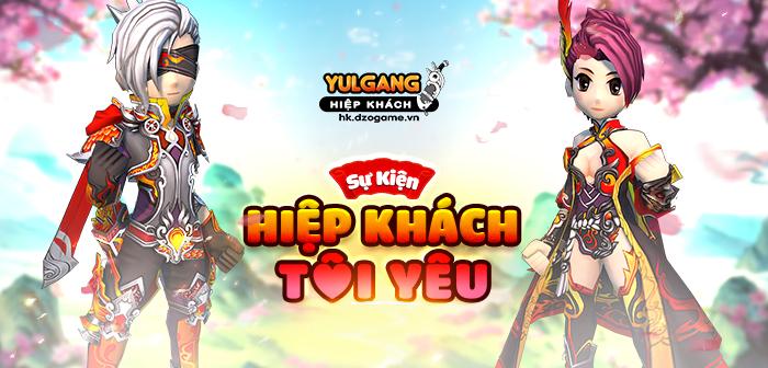Yulgang Hiệp Khách Dzogame VN [Su kien] Hiep Khach Toi Yeu (07.2021)
