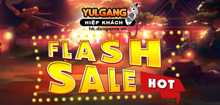Yulgang Hiệp Khách Dzogame VN [Flash Sale] Mùng Gio To Hung Vuong (04.2021)
