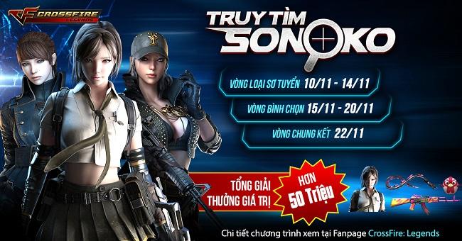 """Crossfire Legends – Kết thúc hành trình """"Truy tìm Sonoko"""""""
