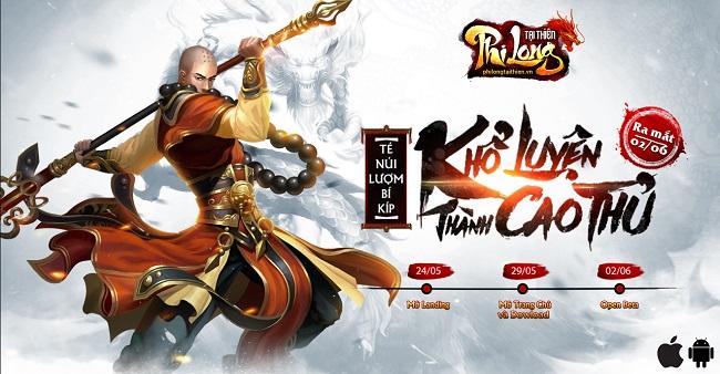 Phi Long Tại Thiên ấn định thời gian ra mắt game thủ