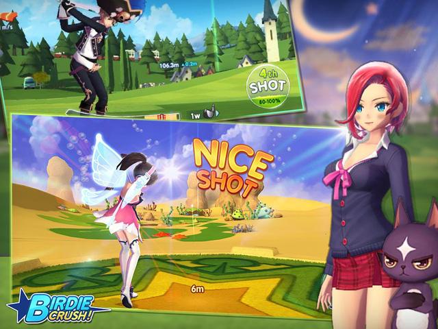 Birdie Crush – game đánh golf 3D cực chất từ Com2uS vừa được hé lộ