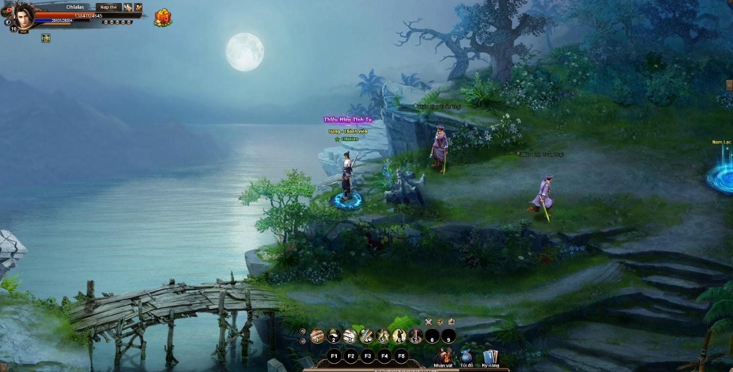 Game mới toanh Cửu Âm Truyền Kỳ lộ diện hôm nay – phát hành bởi GOSU
