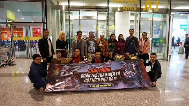 EvaTeam - Á Quân thế giới Đột Kích 2017 đã trở về Việt Nam