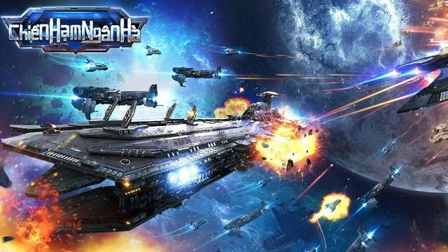 Game mobile chiến tranh vũ trụ Chiến Hạm Ngân Hà chính thức ra mắt