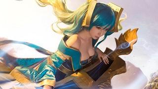 Mê mẩn cosplay Cầm nữ Sona cực quyến rũ trong LMHT