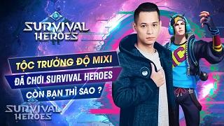 Độ Mixi và Vanh Leg nói gì khiến cộng đồng Survival Heroes hả hê, fan PUBG thì giận tím mặt?