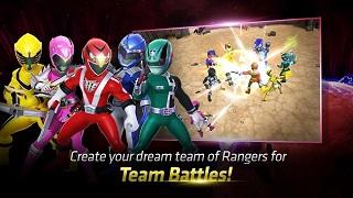 Phiên bản toàn cầu của game mobile Power Rangers: All Stars đã ra mắt