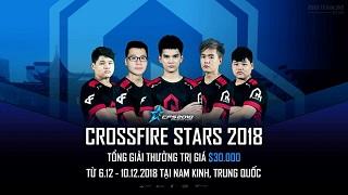 CFL: AHIHI đã sẵn sàng chinh phục giải đấu CrossFire Stars tại Nam Kinh, Trung Quốc