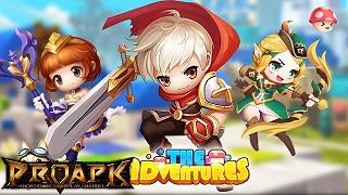The Adventures: lộ diện tựa game RPG với đồ họa Maple Story cực yêu