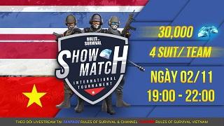 ROS Mobile: Tranh tài cùng Pro Team tại International Showmatch vào 19h tối nay 2/11