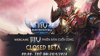 Playpark tặng 300 Giftcode game MU Đại Thiên Sứ